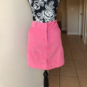 Vineyard Vines pink cord skirt